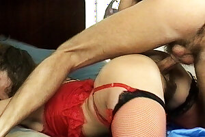 busty stepmom's hairy ass destroyed