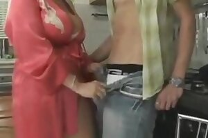 busty mother seduces her stepson - SONFANTASY.COM