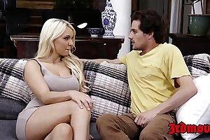 Busty Stepmom Kenzie Taylor Gets Fucked Hard By Her Stepson