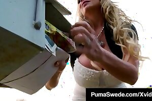 Nordic Nympho Puma Swede & Kelly Madison Share Cock & Cum!