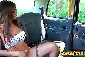 Fake Taxi Escaped horny prisoner Princess Jas needs cock
