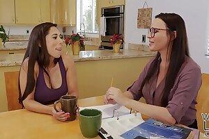 Tutoring turns into lesbian sex - Dana DeArmond and Reena Sky
