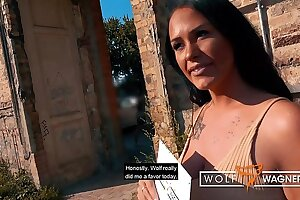 █ Tanned Busty Milf ZARA MENDEZ Bang in German Hotel █ FULL SCENE - 100% - from the new series WOLF WAGNER LOVE wolfwagner.love