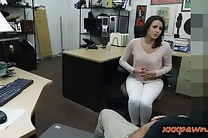 Customers wife nailed by nasty pawn guy at the pawnshop