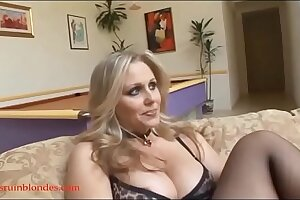 Blacksruinblondes.com blond mom milf cogar pussy ruined by monster black cock